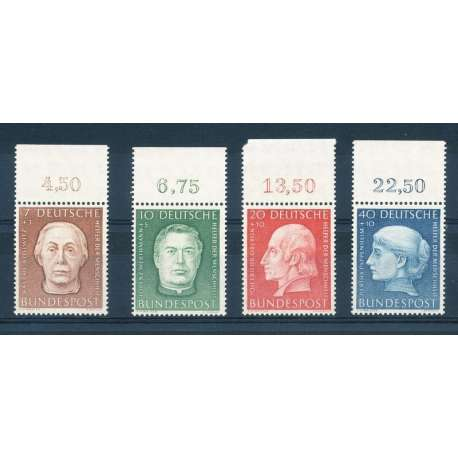 "R.F.T 1954 BENEFICENZA ""BENEFATTORI"" V G.I Germania francobolli filatelia stamps"