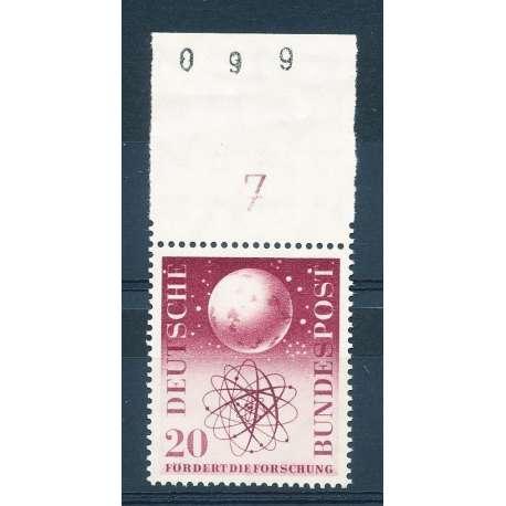 R.F.T 1955 PROPAGANDA PER LE RICERCHE SCIENTIFICHE G.I Germania francobolli filatelia stamps