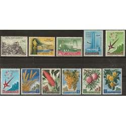 SAN MARINO ANNATA COMPLETA 1958 G.I. San Marino francobolli filatelia stamps