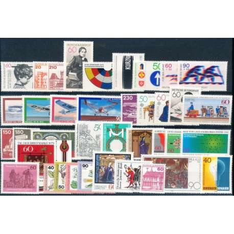 R.F.T 1979 ANNATA COMPLETA E DI ALTISSIMA QUALITA' G.I Germania francobolli filatelia stamps
