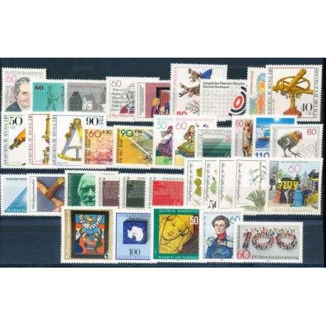 R.F.T 1981 ANNATA COMPLETA E DI ALTISSIMA QUALITA' G.I Germania francobolli filatelia stamps