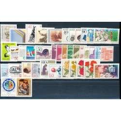 R.F.T. 1982 ANNATA COMPLETA E DI ALTISSIMA QUALITA' G.I Germania francobolli filatelia stamps