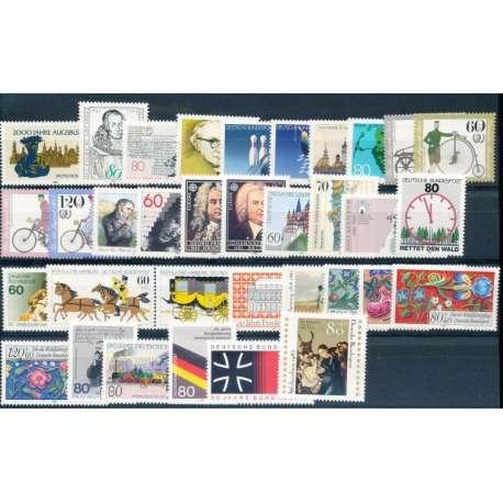 R.F.T. 1985 ANNATA COMPLETA E DI ALTISSIMA QUALITA' G.I Germania francobolli filatelia stamps