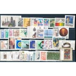 R.F.T. 1987 ANNATA COMPLETA E DI ALTISSIMA QUALITA' G.I. Germania francobolli filatelia stamps