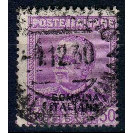 COLONIE 1930 SOMALIA FRANCOBOLLO D'ITALIA 50 CENT. LILLA USATO Colonie francobolli filatelia stamps