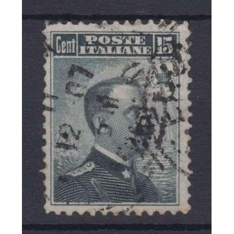 1906 VITTORIO EMANUELE III DENT 12 US. regno d' Italia francobolli filatelia stamps