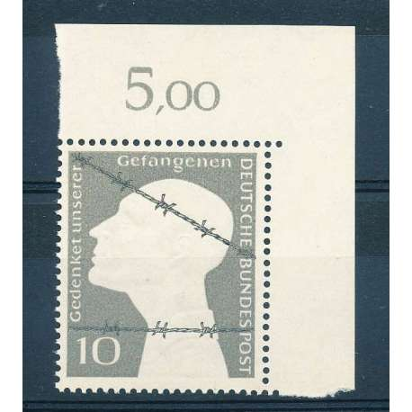 R.F.T 1953 PRIGIONIERI DI GUERRA G.I Germania francobolli filatelia stamps