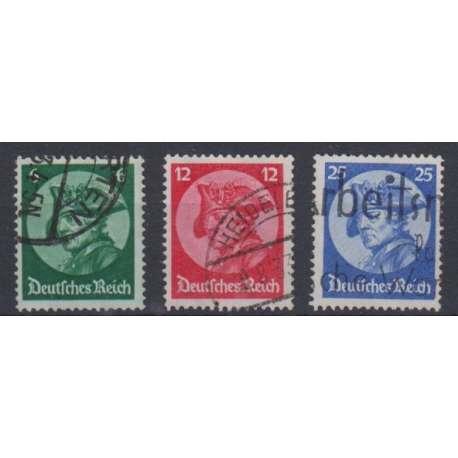 REICH 1933 SEDUTA INAUGURALE DEL NUOVO REICHSTAG US. Germania francobolli filatelia stamps