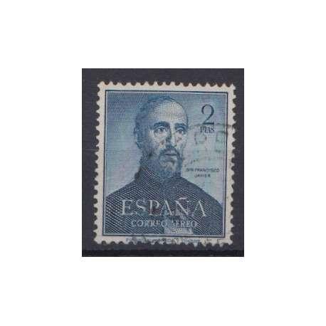 SPAGNA POSTA AEREA 1952 CENTENARIO DELLA MORTE S.FRANCESCO SAVERIO US. Altro francobolli filatelia stamps