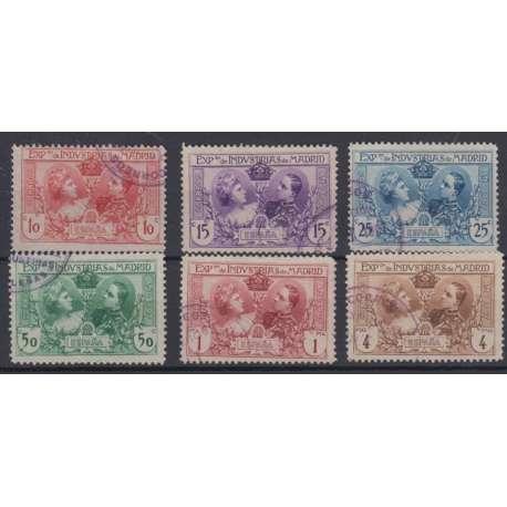 SPAGNA 1907 ESPOSIZIONE DI MADRID US. Altro francobolli filatelia stamps