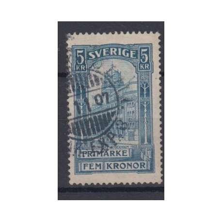 SVEZIA 1903 PALAZZO DELLE POSTE A STOCCOLMA US. Altro francobolli filatelia stamps