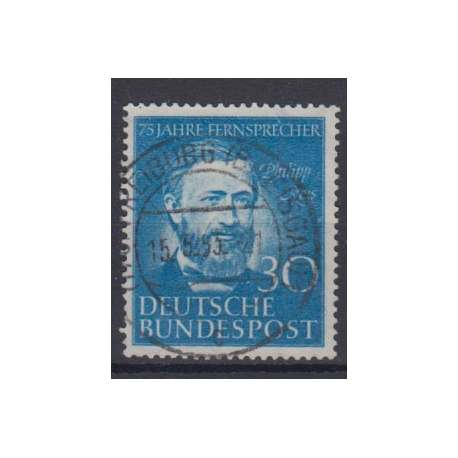 R.F.T. 1952 ANNIBERSARIO TELEFONO IN GERMANIA (PHILIPP REIS) US. Germania francobolli filatelia stamps