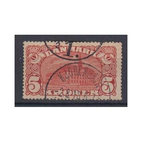 DANIMARCA 1915 PALAZZO DELLE POSTE DI COPENAGHEN US. Altro francobolli filatelia stamps
