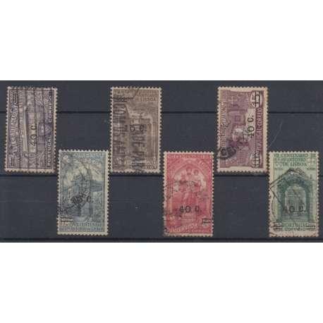 PORTOGALLO 1933 S. ANTONIO SOPRASTAMPATI US. PUNTO D'OSSIDO Altro francobolli filatelia stamps