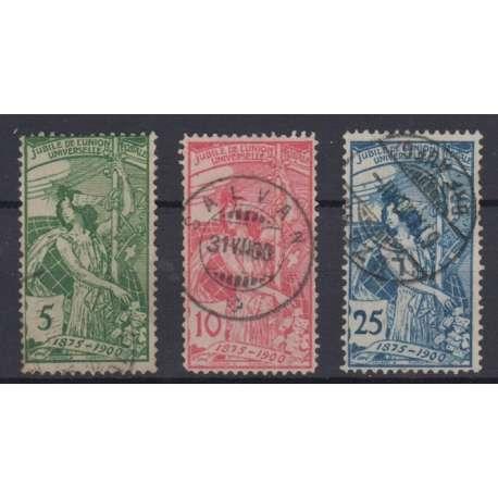 SVIZZERA 1900 25° ANNIVERSARIO U.P.U. US. Altro francobolli filatelia stamps