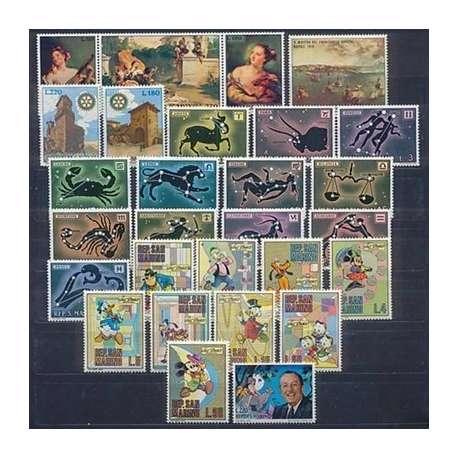 1970 SAN MARINO ANNATA COMPLETA G.I. San Marino francobolli filatelia stamps