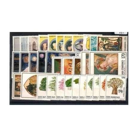 1979 SAN MARINO ANNATA COMPLETA G.I. San Marino francobolli filatelia stamps