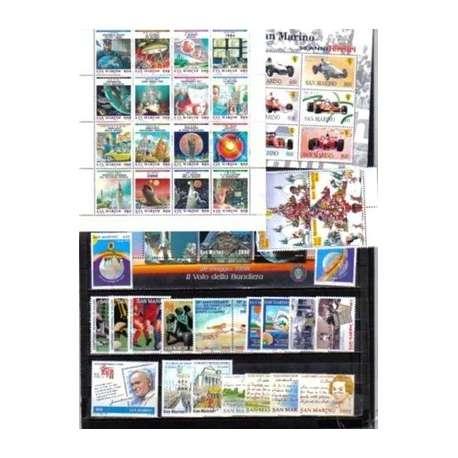 1998 SAN MARINO ANNATA COMPLETA + BF G.I. San Marino francobolli filatelia stamps