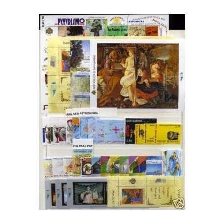 2009 SAN MARINO ANNATA COMPLETA + BF G.I. San Marino francobolli filatelia stamps