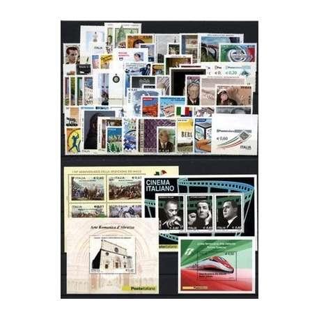 2010 SAN MARINO ANNATA COMPLETA + BF G.I. San Marino francobolli filatelia stamps
