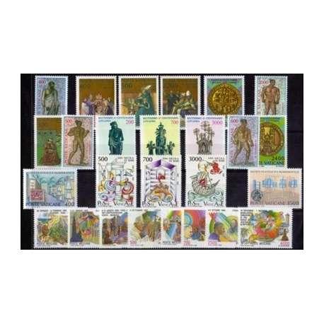 1987 VATICANO ANNATA COMPLETA G.I. Vaticano francobolli filatelia stamps