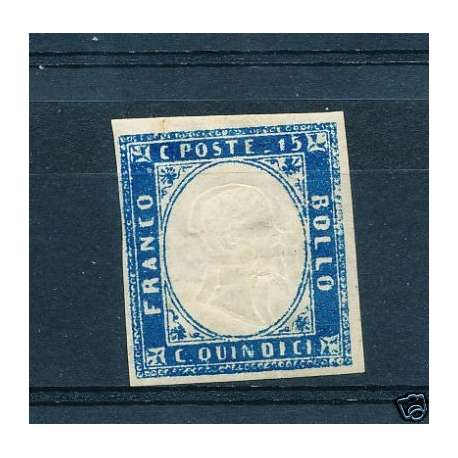 REGNO:15C. TRIPLA EFFIGIE GOMMA ORIGINALE T.L. regno d' Italia francobolli filatelia stamps