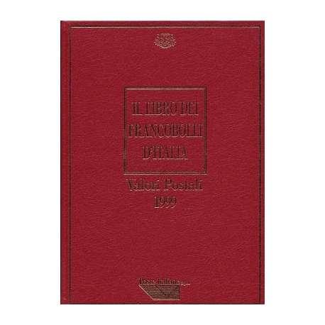 REPUBBLICA:LIBRO DEI FRANCOBOLLI COME NUOVO ANNO 1999 repubblica italiana francobolli filatelia stamps