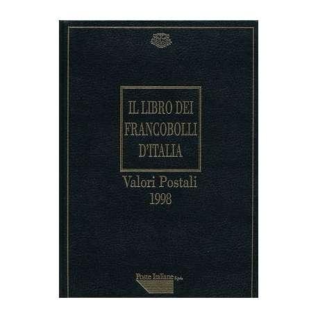 REPUBBLICA:LIBRO DEI FRANCOBOLLI COME NUOVO ANNO 1998 repubblica italiana francobolli filatelia stamps