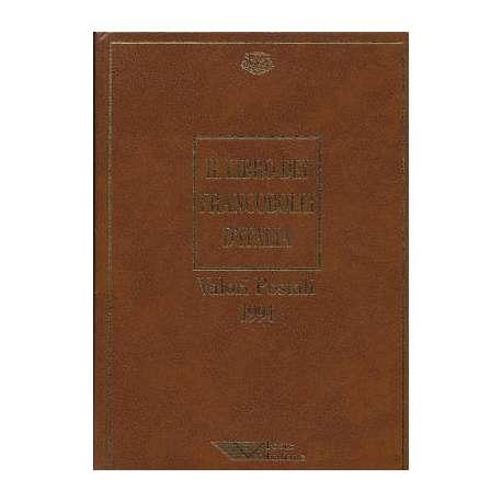 REPUBBLICA:LIBRO DEI FRANCOBOLLI COME NUOVO ANNO 1994