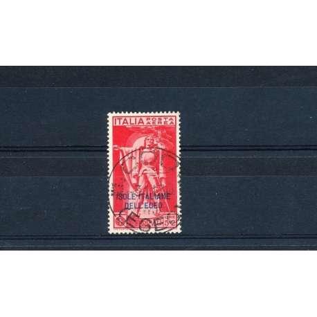 EGEO 1930 P.A. FERRUCCI 5L. + 2 L. U Colonie francobolli filatelia stamps