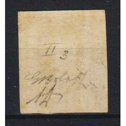 1859 SICILIA 5 gr. VERMIGLIO VIVO PA II T. n.11a CERT. G. BOLAFFI T.L. MLH* Sicilia francobolli filatelia stamps
