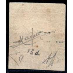 1859 SICILIA 20 gr. ARDESIA VIOLACEO n.13d CERT. RAYBAUDI US. Sicilia francobolli filatelia stamps