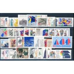 R.F.T. 1989 ANNATA COMPLETA E DI ALTISSIMA QUALITA' G.I Germania francobolli filatelia stamps