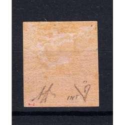 MODENA 1852 AQUILA ESTENSE 10 CENTESIMI N.9e G.O MH* CERTIFICATO DIENA Modena e Parma francobolli filatelia stamps