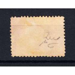 STATO PONTIFICIO 1868 STEMMA PONTIFICIO 40 CENTESIMI N.29d CERTIFICATO Stato Pontificio francobolli filatelia stamps