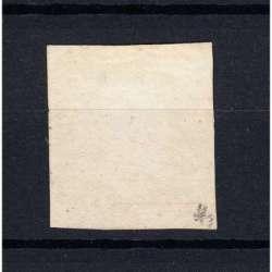 SICILIA 1859 FERDINANDO II 20 GRANA N.13 USATO CERTIFICATO Sicilia francobolli filatelia stamps