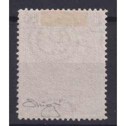 REPUBBLICA 1954 ITALIA TURRITA 100 LIRE VARIETA' RUOTA NS USATO CERT. repubblica italiana francobolli filatelia stamps